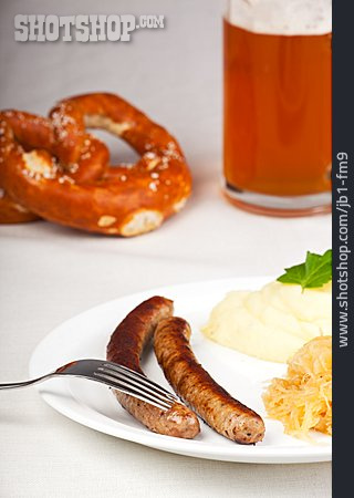Bavarian Cuisine, Sausage, Homemade