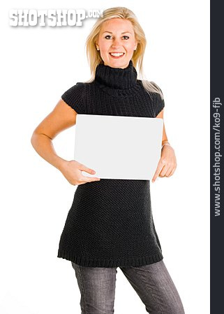 Young Woman, Shield, Present