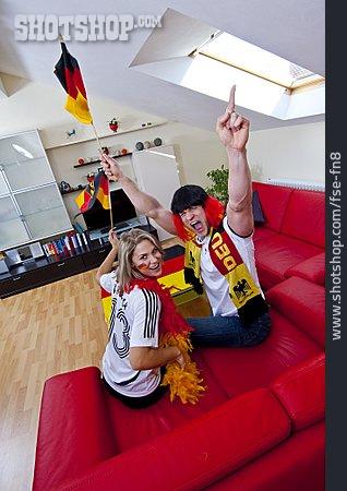Fan Article, Cheering, Soccer Fan, German Fans