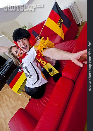Cheering, Soccer Fan, German Fans