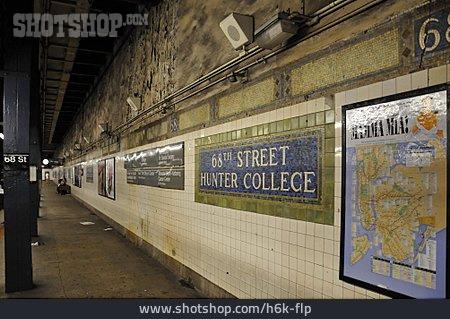 Subway Train, Subway Station, Subway, 68th Street