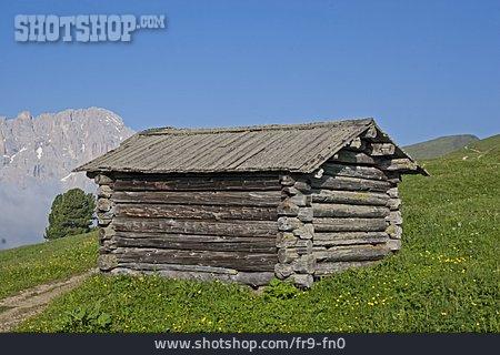 Wooden House, Barn, Grödner Valley