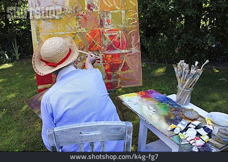 Painting, Hobbies, Artist, House Painter