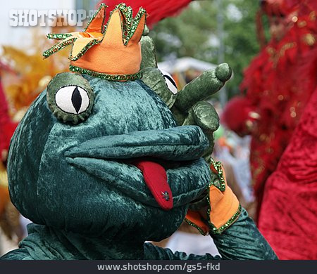 Mask, Carnival, Frog Prince