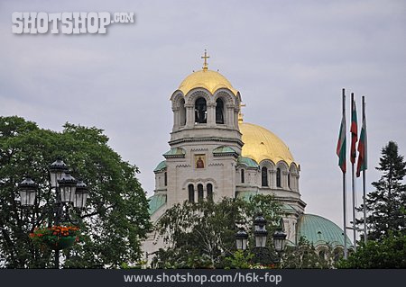 Cathedral, Sofia, Alexander Newski Kathedrale