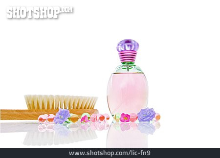 Perfume, Flacon, Massage Brush
