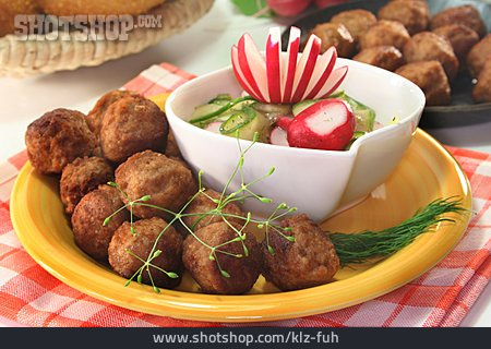 Meat Dish, Meatballs, Köttbullar