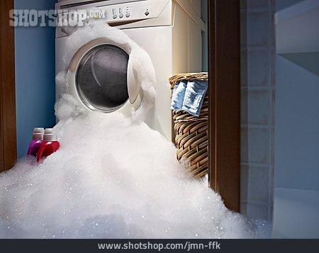 Foam, Expiry, Washing Machine, Damage, Household Accident