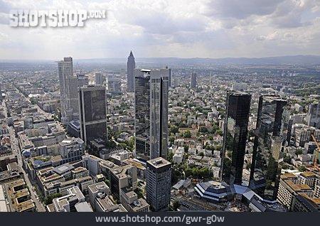 Skyline, Office Building, Frankfurt
