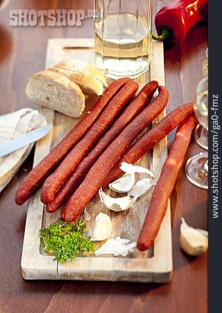 Sausage, Cabanossi