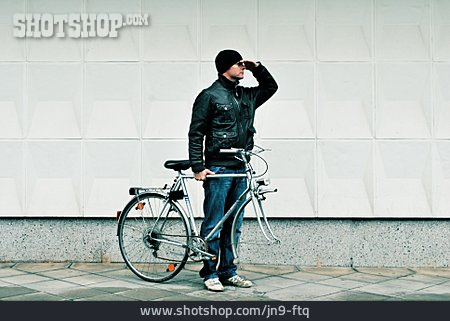 Young Man, Search, Bicycle Accident