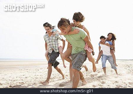 Friends, Beach Holiday, Summer Vacation