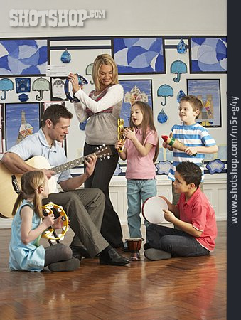 Playing Music, Music Lessons, Music School