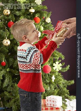 Boy, Hand Over, Christmas Present