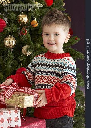 Boy, Christmas Eve, Christmas Present