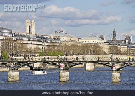 Bridge, Seine, Pont Des Arts