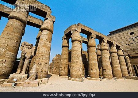 Temple, Column, Luxor Temple