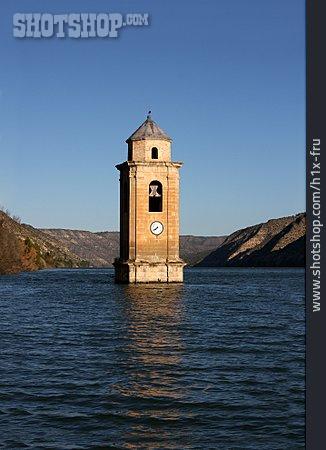 Steeple, Reservoir, Panta De Riba-roja