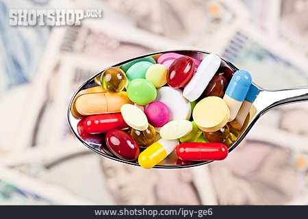 Spoon, Pill, Medicine Expenses