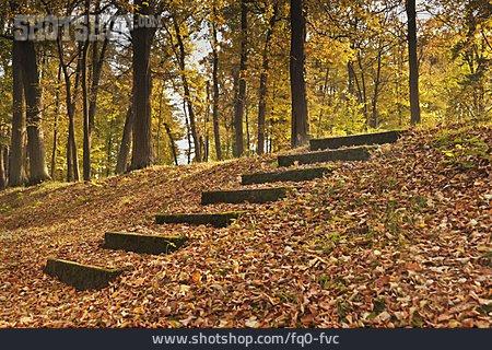 Autumn, Staircase