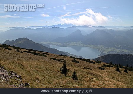 Mountains, Wolfgangsee, Salzkammergut