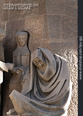 Sculpture, Barcelona, Sagrada Familia