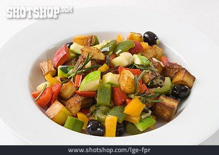 Vegetable Pan, Greek Cuisine