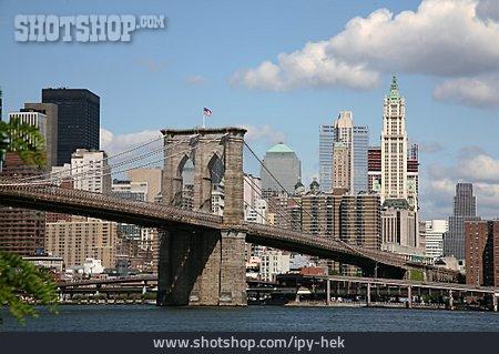 City View, New York, Brooklyn Bridge