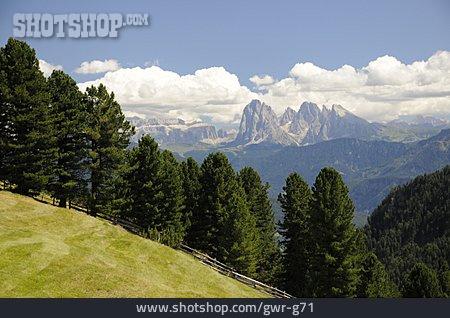 Mountains, Dolomites, Sarntal Alps