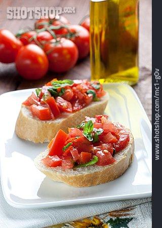 Appetizer, Italian Cuisine, Bruschetta