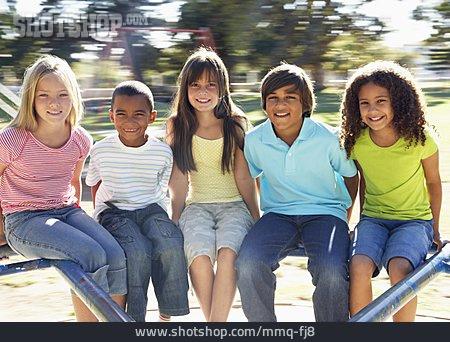 Children Group, Friendship, Friends