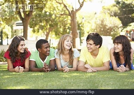 Teenager, Teenager, Friends, Clique