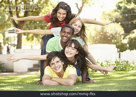 Teenager, Teenager, Friendship, Friends, Clique