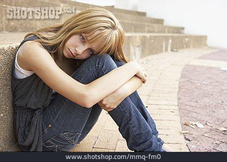 Solitude & Loneliness, Teenager, Teenager, Sad, Puberty