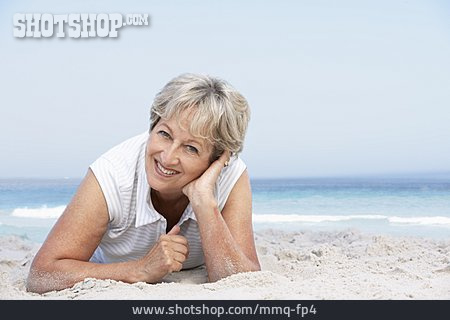Senior, Beach Holiday