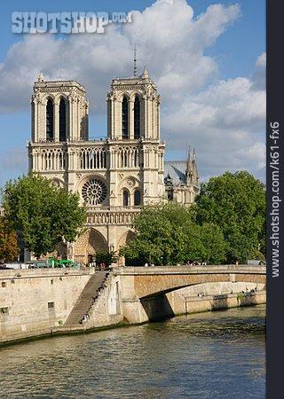 Cathedral, Notre Dame De Paris