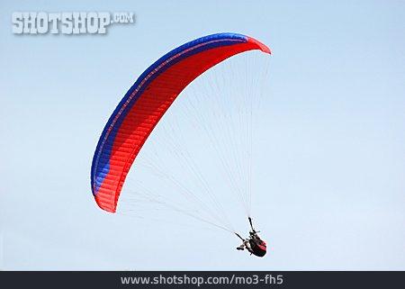 Flying, Paraglider, Paragliding