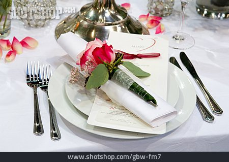 Table Decoration, Place Setting, Banquet