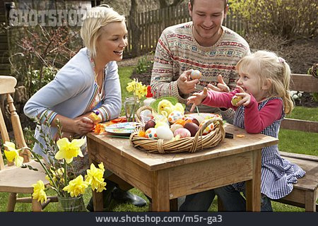 Easter, Painting, Family