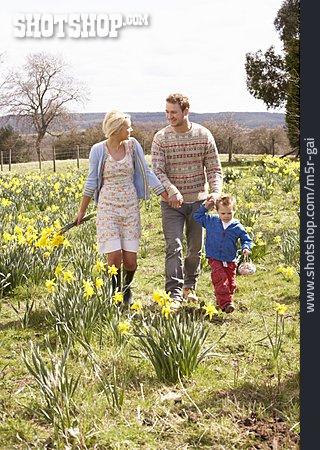 Family, Easter Egg Hunt, Easter Walk