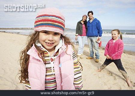 Beach Walking, Family, Beach Holiday