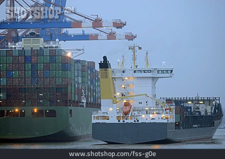 Container Ship, Container Ship, Container Terminal