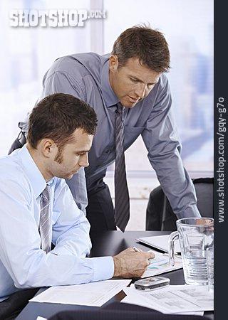 Meeting & Conversation, Boss, Office Assistant