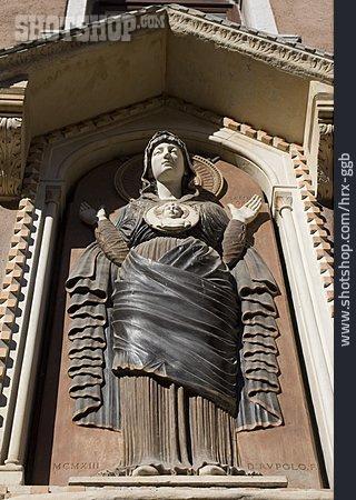 Statue, Mary Statue, Madonna