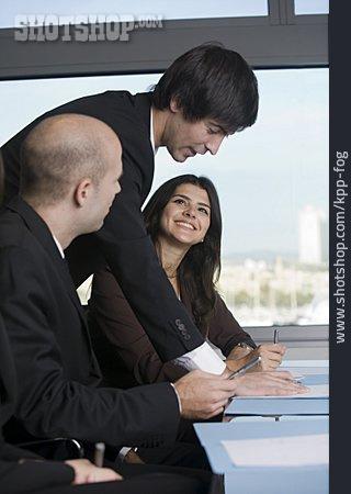 Businessman, Meeting & Conversation, Customer Support