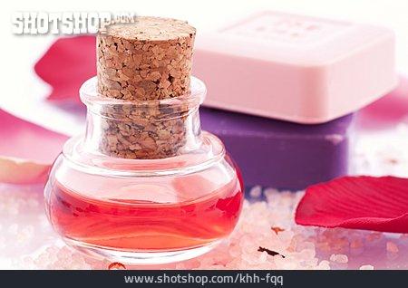 Bar Of Soap, Flacon, Bathing Oil