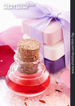 Wellness & Relax, Bar Of Soap, Flacon, Bathing Oil