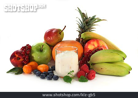 Yogurt, Fruit Yoghurt