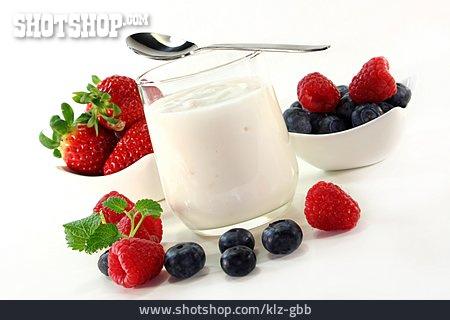 Dessert, Fruit Yoghurt