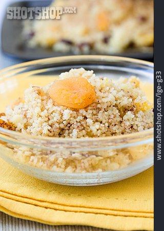 Dessert, Couscous, African Cuisine, Seffa De Couscous